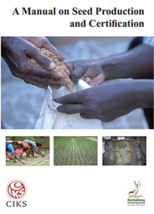 1. A Manual on Seed Production and Certification