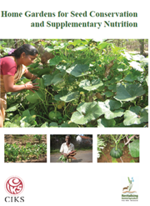 10. Home Gardens for Seed Conservation and Supplementary Nutrition