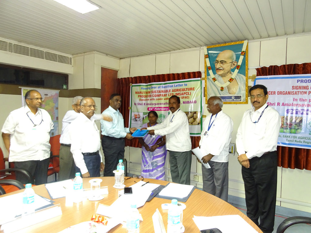 Matching Equity Grant From Small Farmers Agri-Business Consortium (SFAC)