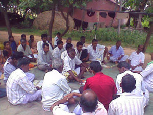 Meeting of farmers groups