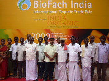 Staff and beneficiaries of CIKS participated in Bio Fach India trade fair