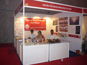 Our stall in India organic trade fair'08 held at New Delhi