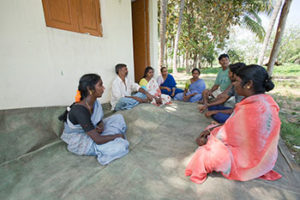 Small holder farmers group - meeting