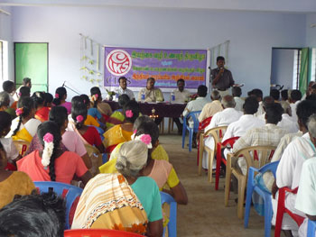 Participants of the food festival conducted in Dindigul district